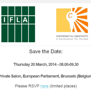 IFLA – C4C Brussels event – March 2014
